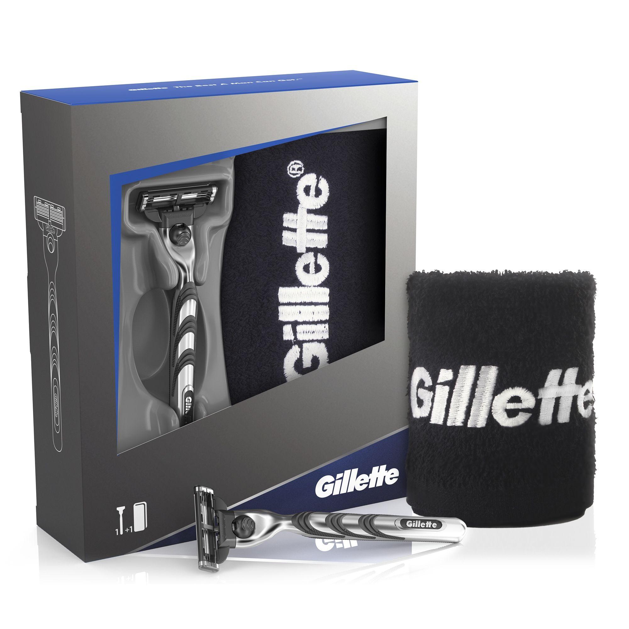 Gillette Mach 3 maszynka + ręcznik