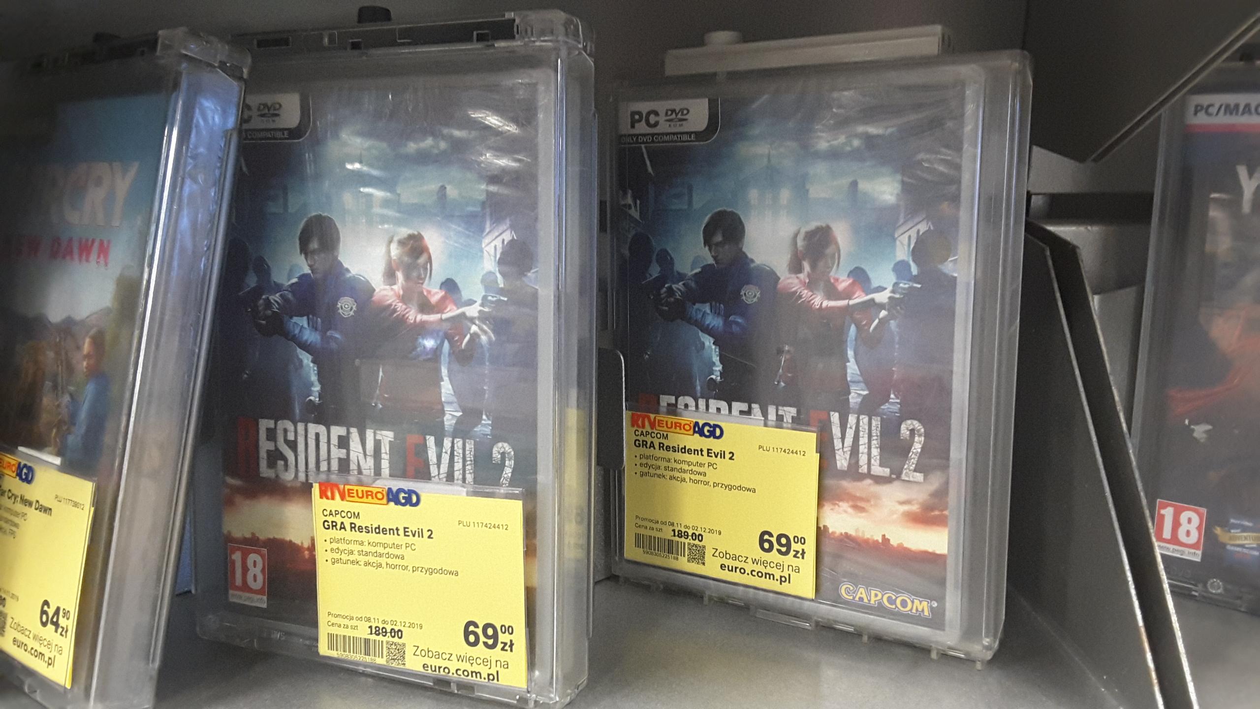 Gra Resident Evil 2 na Pc, RTV EURO AGD