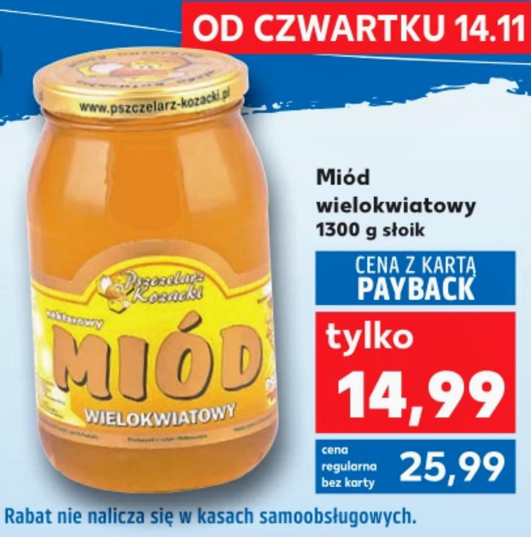 Miód wielokwiatowy 1300g - Kaufland