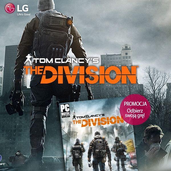 Kup ultrapanoramiczny monitor LG 21:9 zgarnij grę Tom Clancy The Division na PC