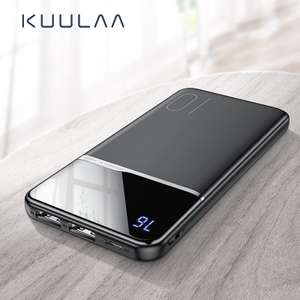 KUULAA Power Bank USB 10000 mAh