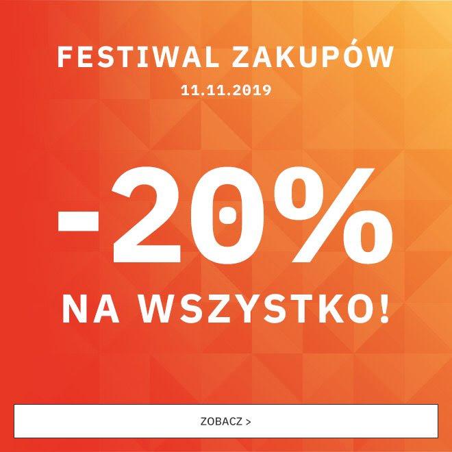 Supersklep.pl -20% na wszystko na 11 Listopada
