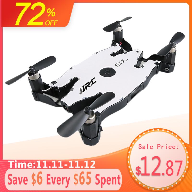 Dron za 13.99$ JJR/C JJRC H49 SOL ultracienki Wifi FPV dron do selfie 720P