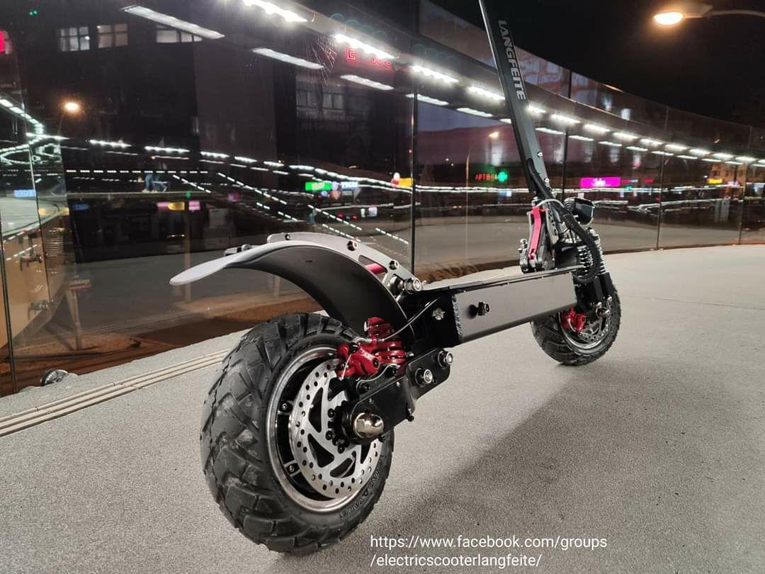 Hulajnoga elektryczna prędkość 45 km/h zasięg do 70 km ( max obciążenie 150 kg )