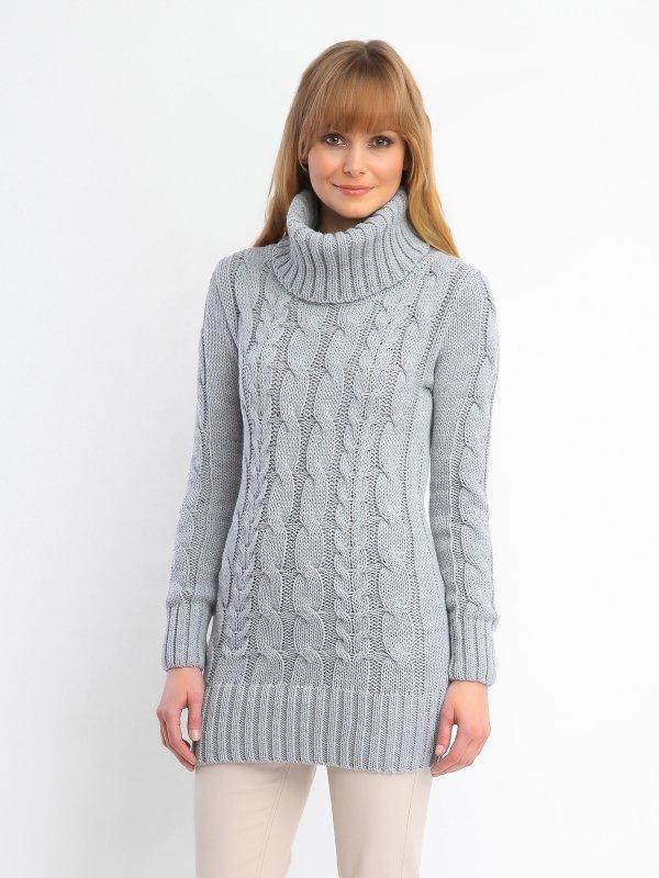 Długi damski sweter z golfem za 49,99zł (obniżka ze 139,99zł) @ Top Secret