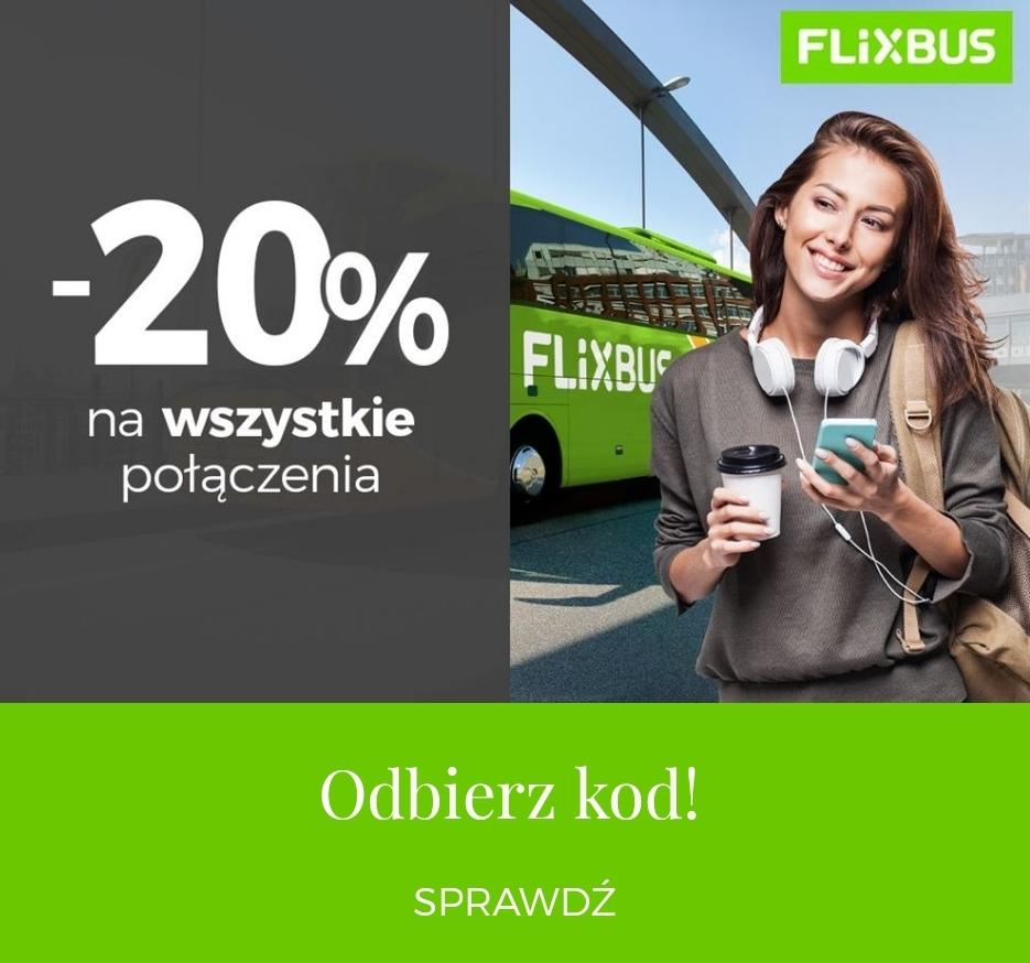 Flixbus -20% w aplikacji Goodie