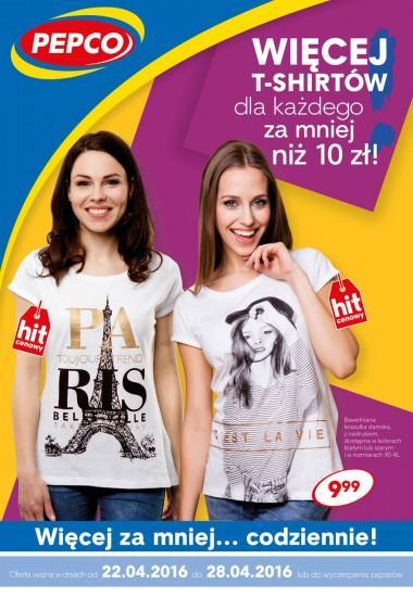 t-shirty damskie za 9,99 zł