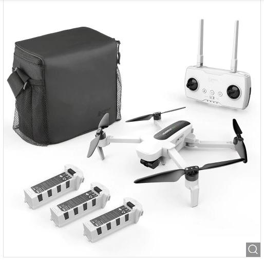 Dron Hubsan H117S Zino GPS 5.8G 1KM White EU Plug, 3 Batteries + 1 Storage Bag 4K UHD