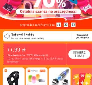 Kupon 3/30$ Aliexpress