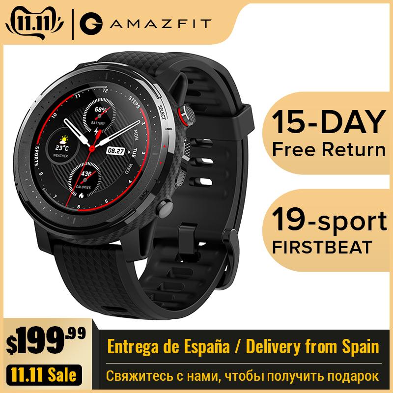 Amazfit Stratos 3 z Hiszpanii $175.10 (select + kod )