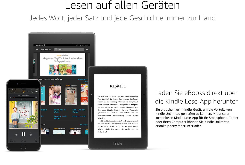 Kindle Unlimited za darmo na 3 miesiące