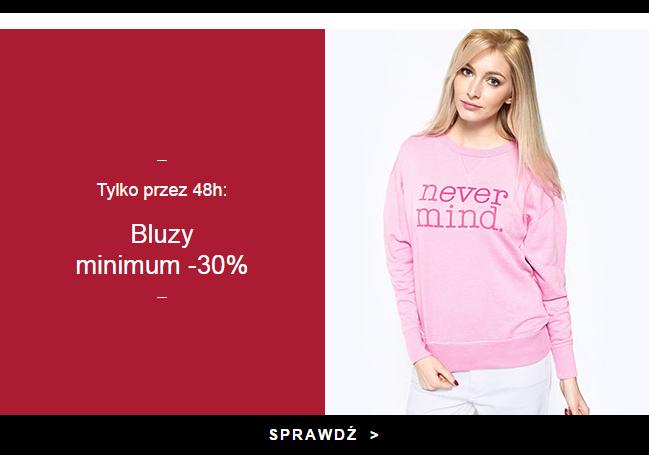 ANSWEAR - Bluzy min. 30% taniej, już od 39.90