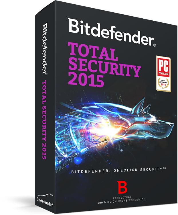 Bitdefender Total Security 2015 za darmo (6 miesięcy) @ sharewareonsale.com