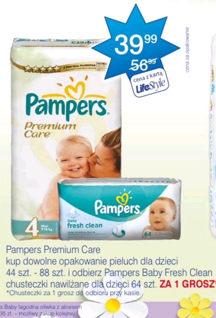 Pampers Premium Care  + chusteczki za grosz @ Super-Pharm