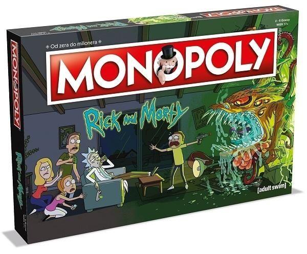 Smarkacz.pl Gry i zabawki - zbiorcza np Monopoly Rick i Morty