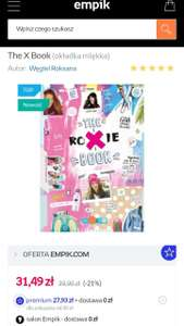 The X Book roxie promocja @Empik