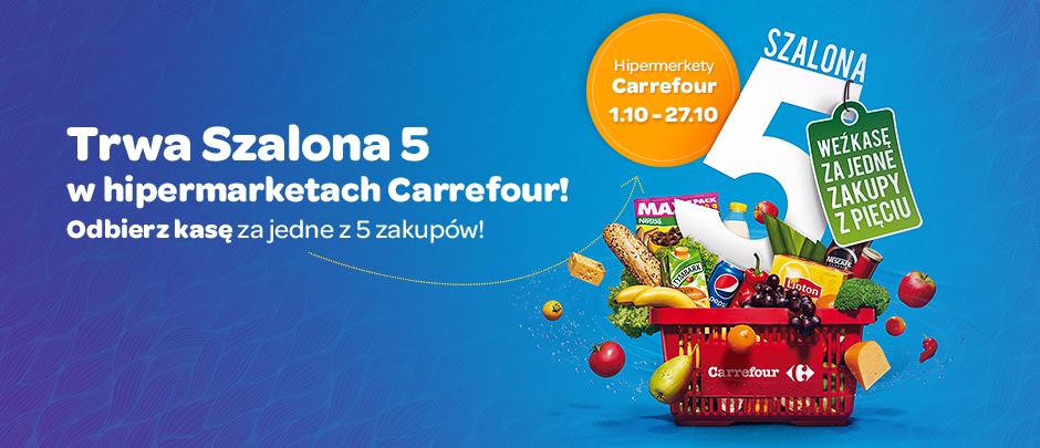5 zakupy w październiku gratis! @ Carrefour