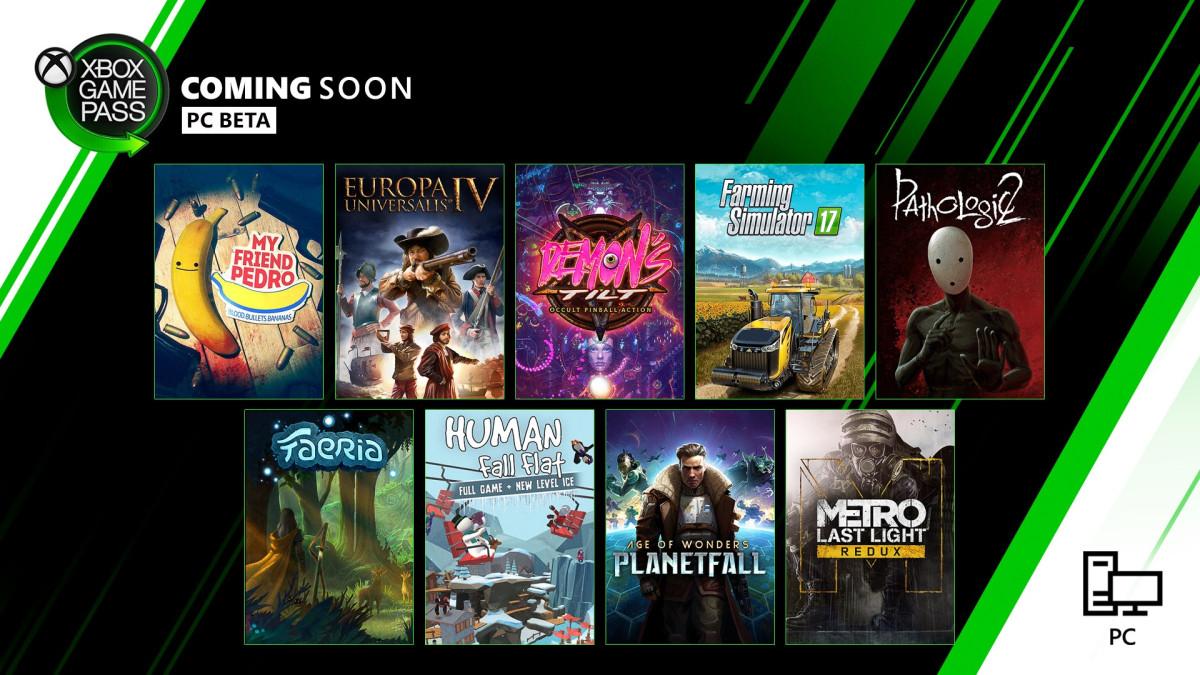 Xbox Game Pass - listopad / grudzień 2019 (Xbox + PC)