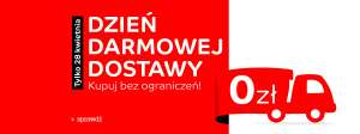 Dzień darmowej dostawy 28.04 Agito.pl