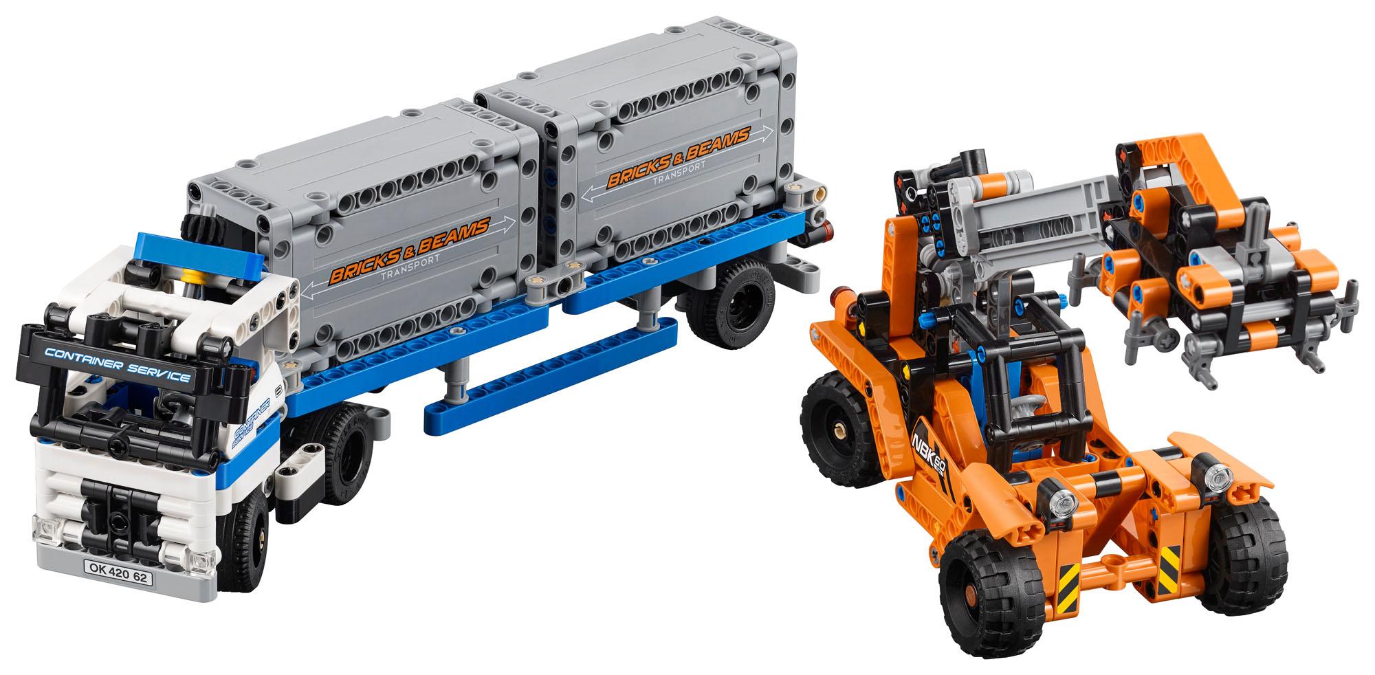 LEGO Technic Plac przeładunkowy 42062 w Lidlu za 99zł