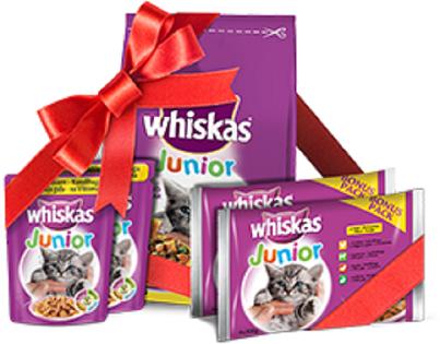 Pierwsza Paka Kociaka - karma za darmo dla kotów w wieku do 6 miesięcy @ Whiskas