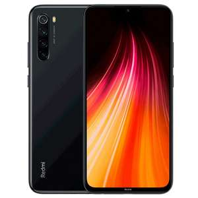 Xiaomi Redmi Note 8 Black 4/64GB Dual SIM LTE Snapdragon 665