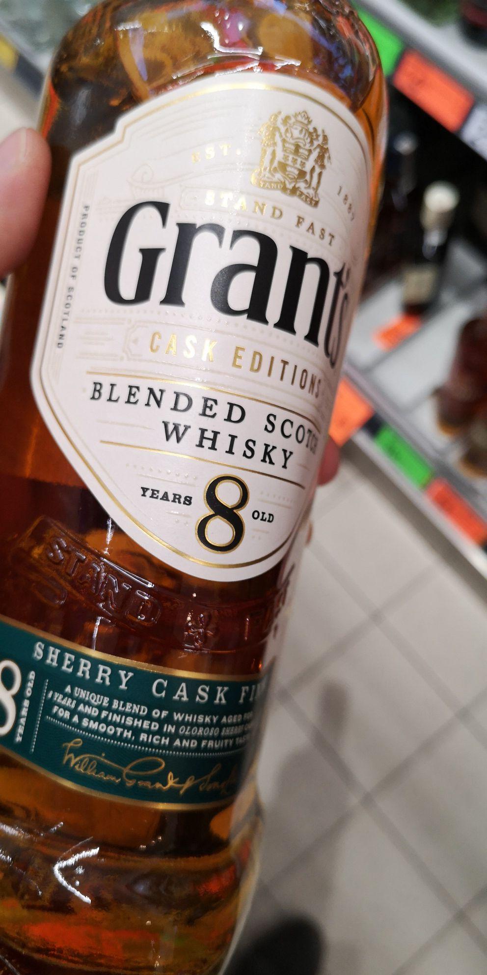 Whisky Grants 8yo @Biedronka