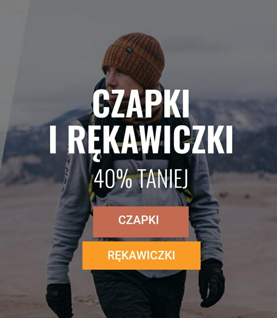 -40% na wszystkie czapki i rękawiczki w sklepie górskim Skalnik