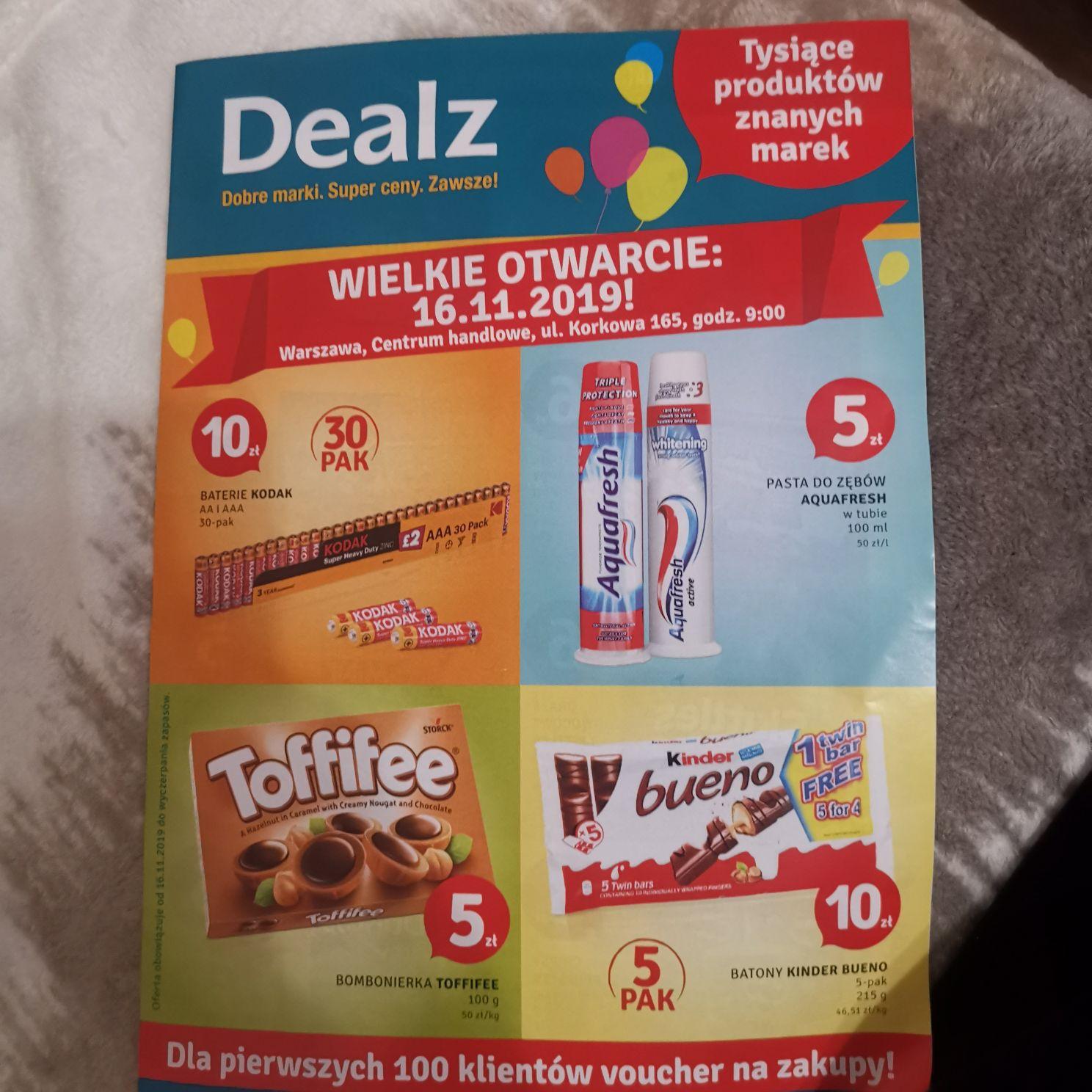 Dealz - baterie Kodak 30 szt za 10 zł (Warszawa)
