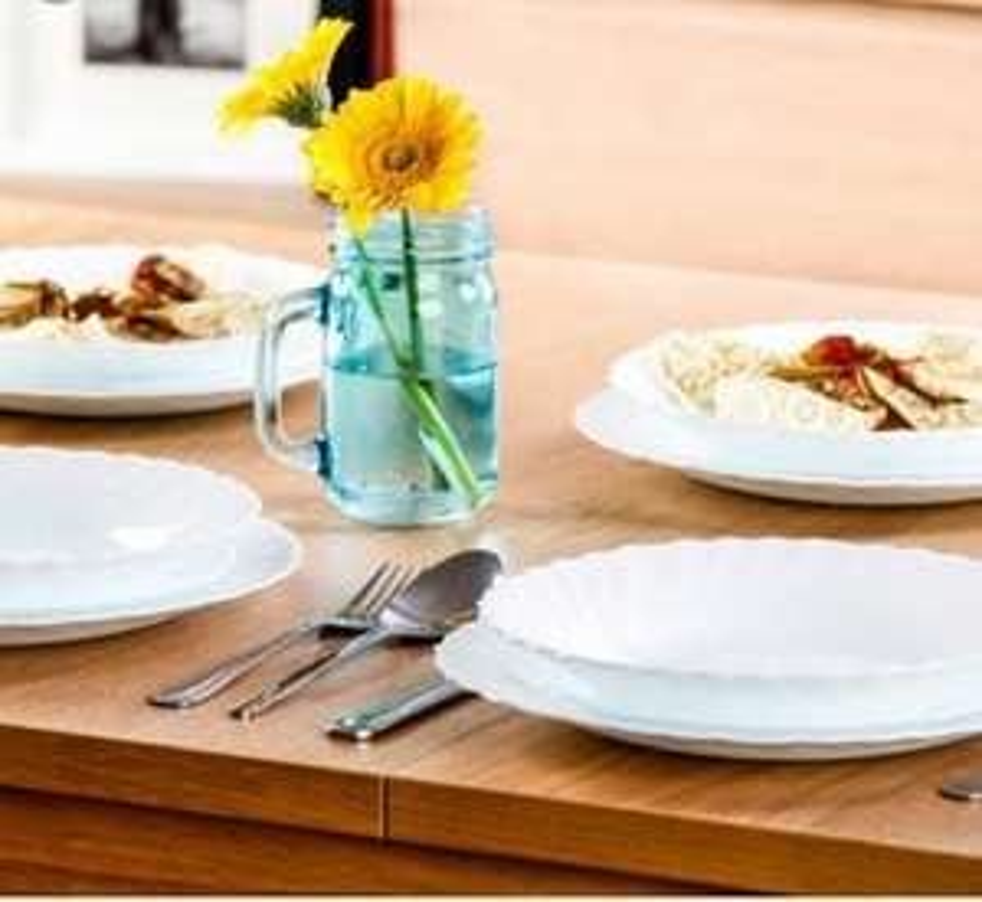 Selgros PRIMA Serwis obiadowy 18 el komplet talerzy