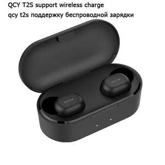 Słuchawki bezprzewodowe BT5.0 QCY T2S z ładowaniem bezprzewodowym za 16,45$