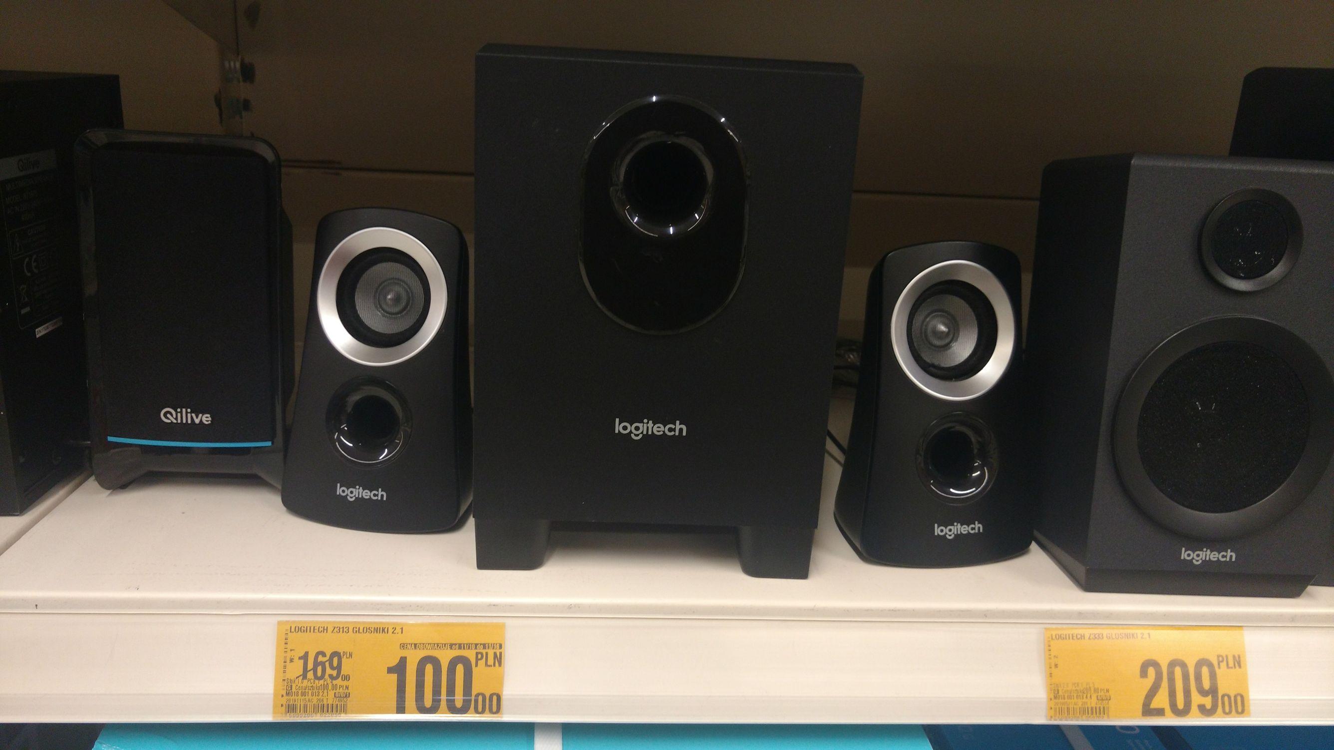 Głośniki Logitech Z313 / Genesis Helium 2.1 @Auchan