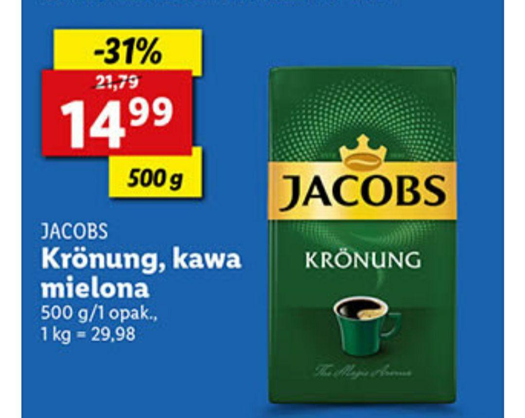 Lidl Jacobs Kronung, kawa mielona