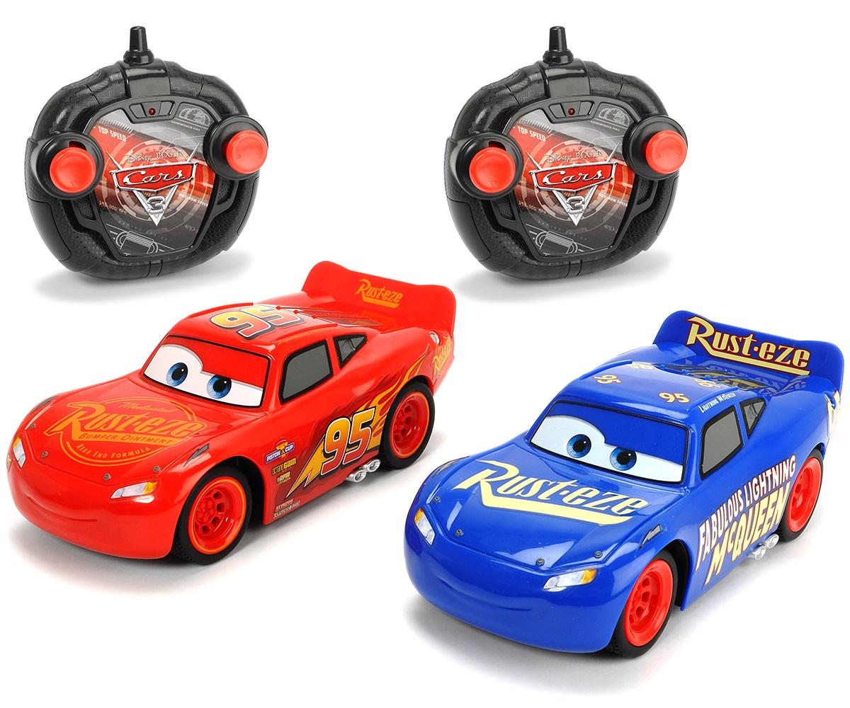 Auta 3 2-pak Samochód Turbo Racer Fabulous McQueen i Zygzak