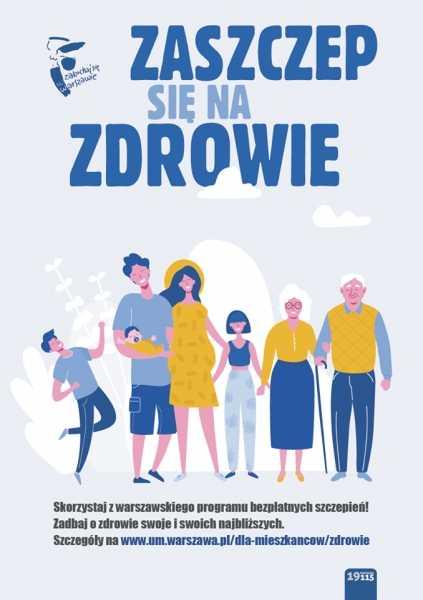 Bezpłatne szczepienia przeciw grypie 65+ i hpv 12 Warszawa