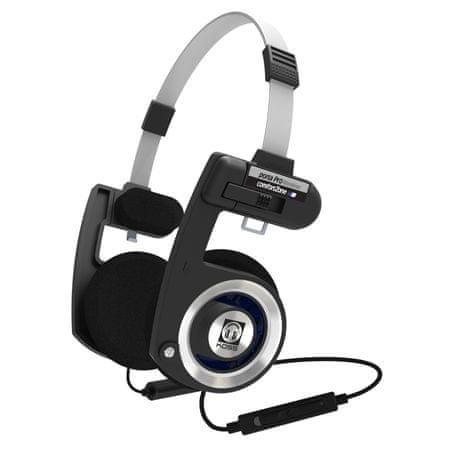 KOSS słuchawki Porta Pro Wireless, srebrne/czarne