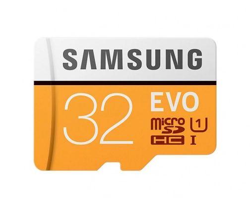 Samsung 32GB microSDHC Evo zapis 20MB/s odczyt 95MB/s + adapter SD