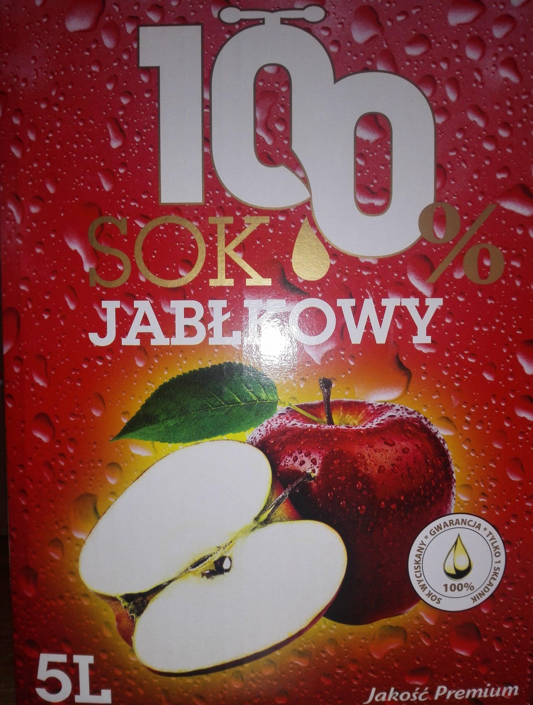 Auchan - Wyciskany sok jabłkowy 5l za 9,99zł!