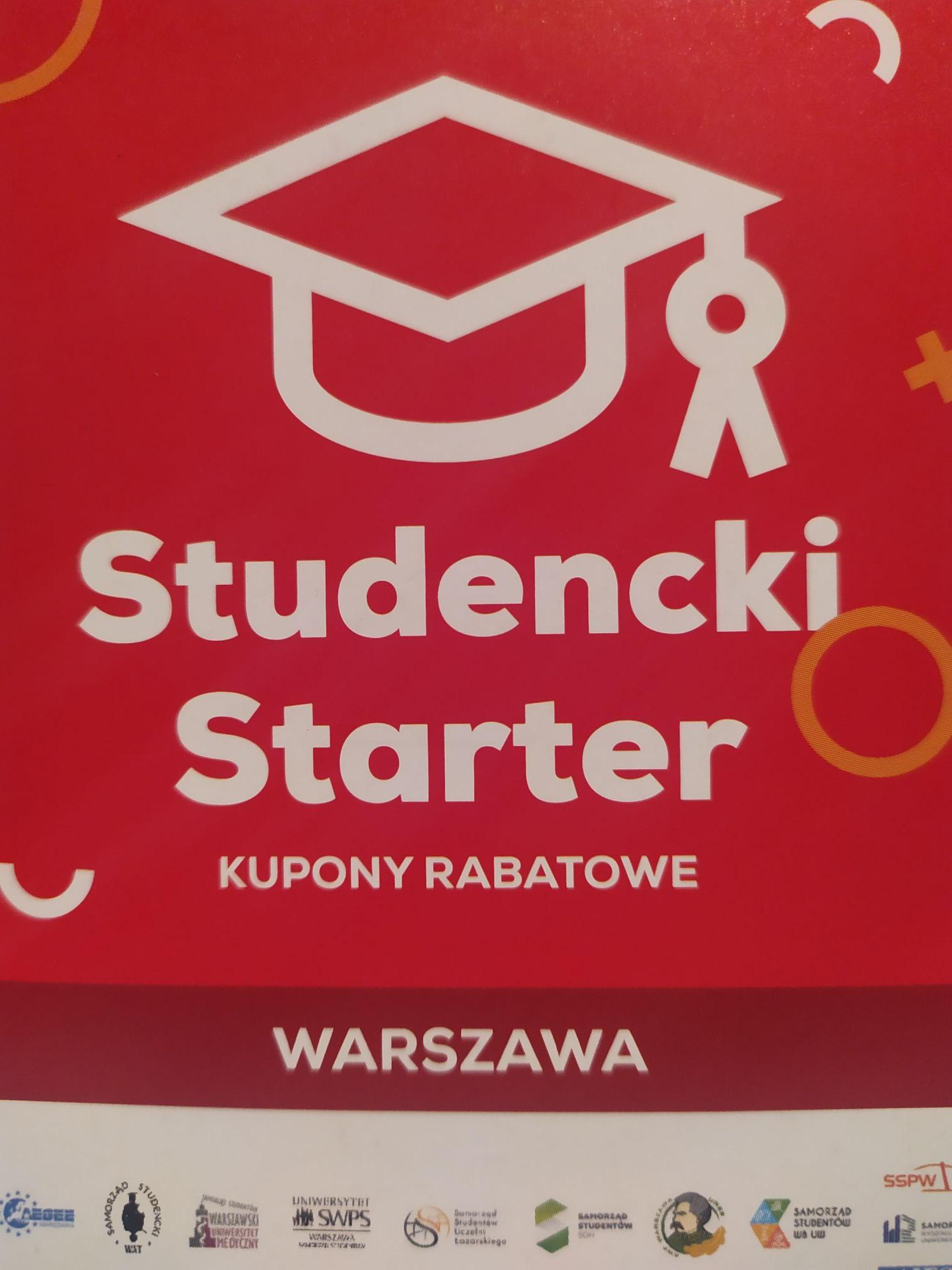 Kilka studenckich kodów i promocji (Warszawa)