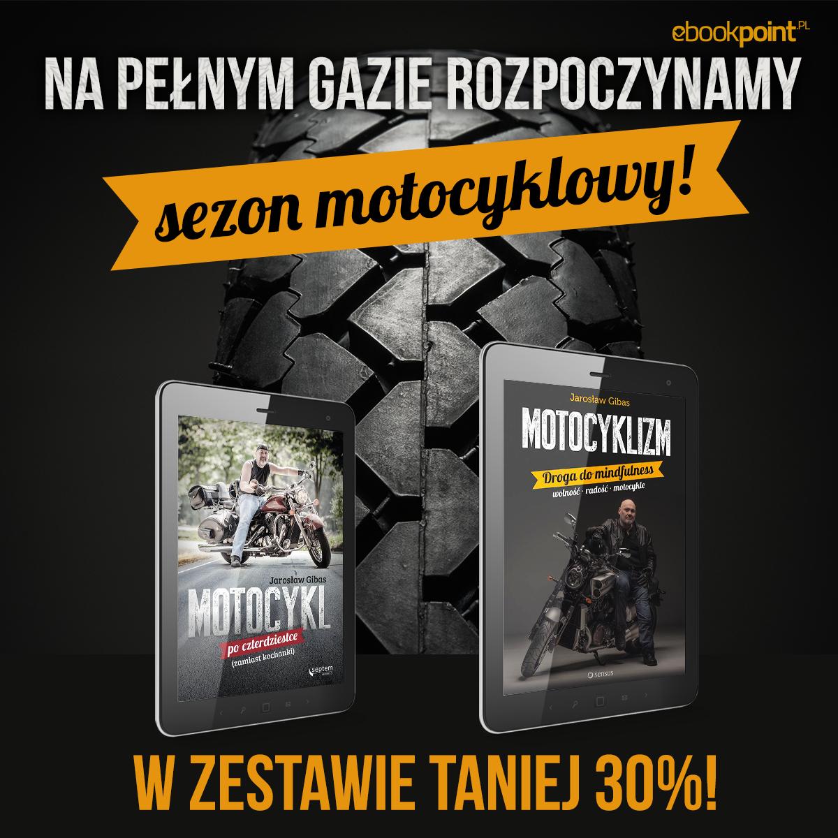 Motocyklowe ebooki lub audiobooki 30% taniej @ ebookpoint.pl