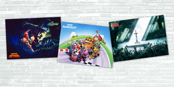Zestaw 3 plakatów w My Nintendo za 300 punktów + wysyłka
