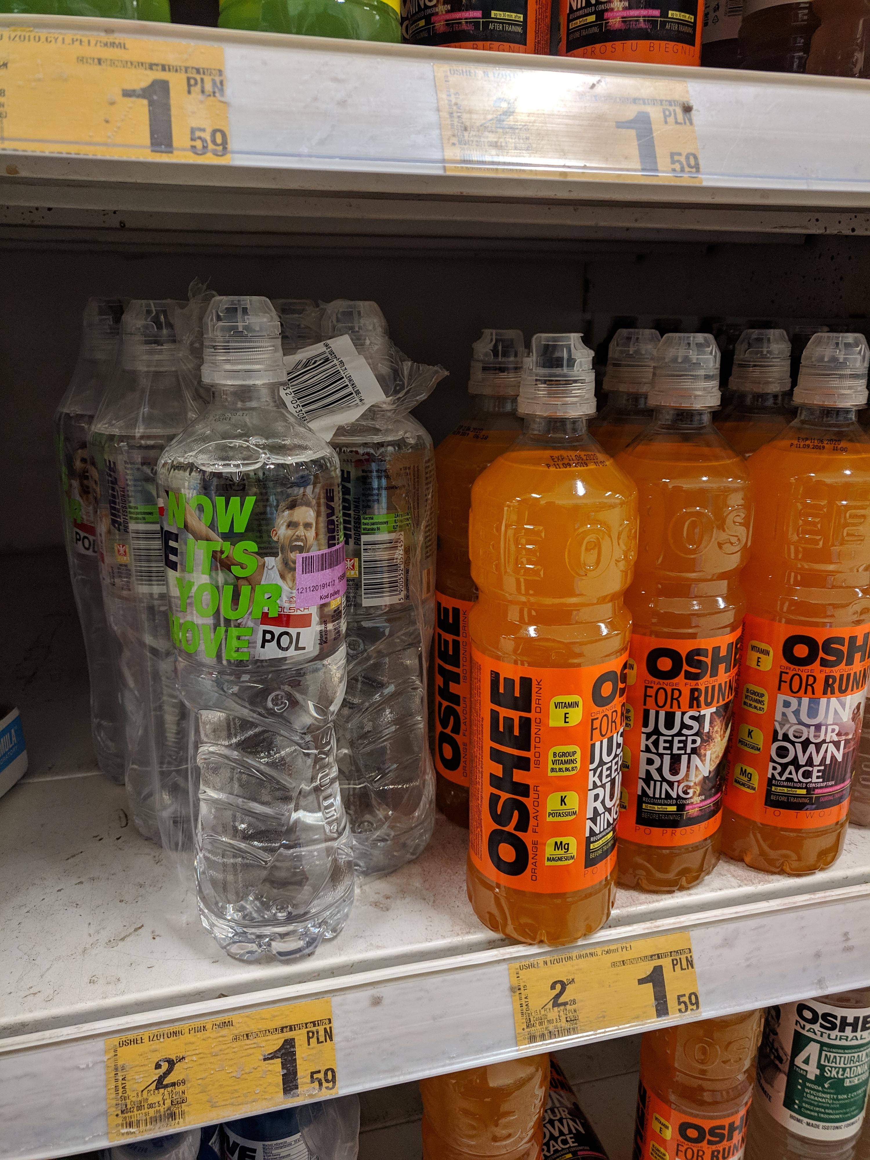 OSHEE 0.75 L różne smaki @ Auchan