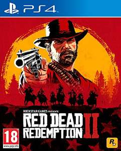 Red Dead Redemption 2 PS4/Xbox One z Amazon.fr oraz Amazon.de