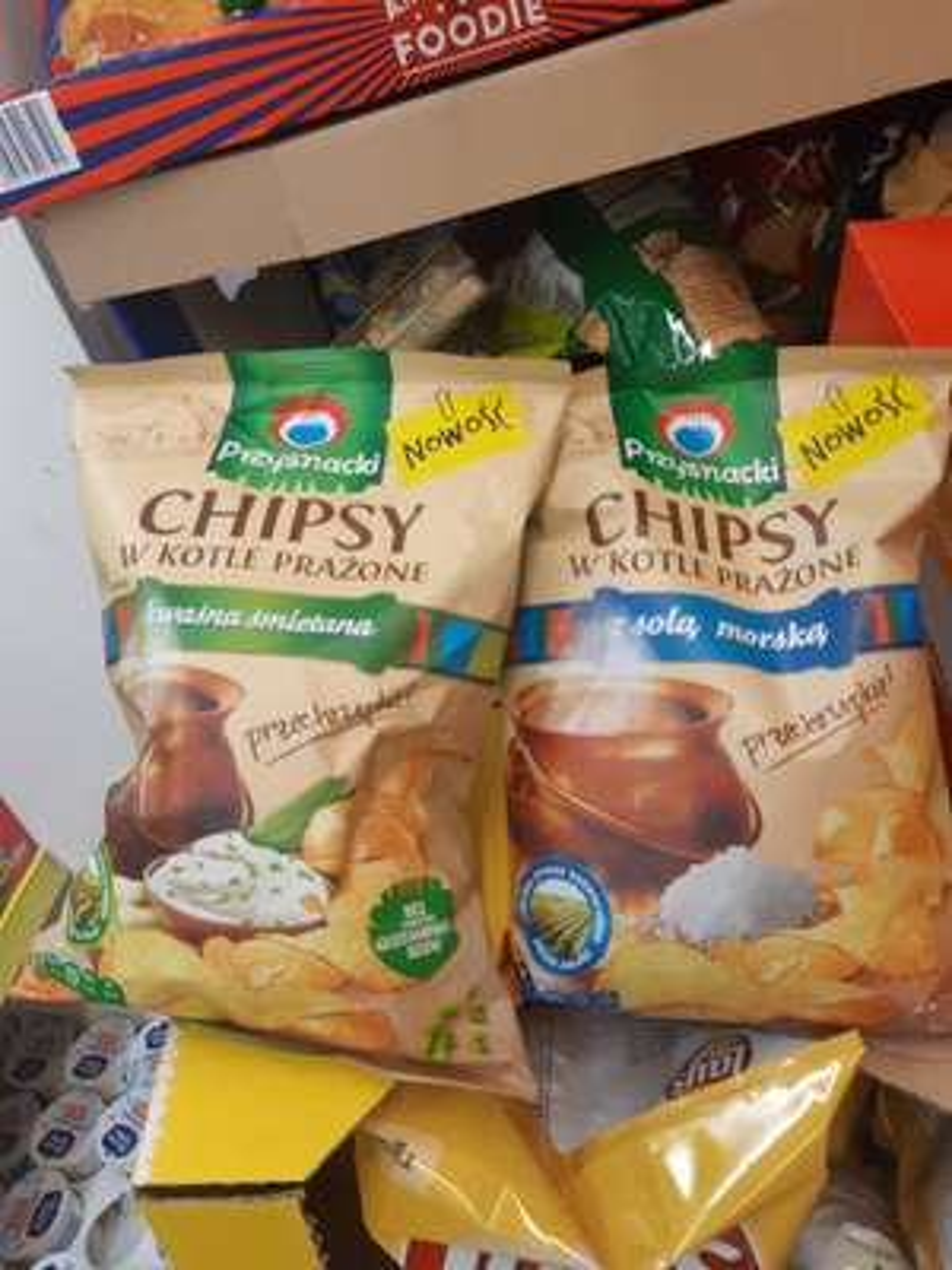Chipsy Przysnacki w kotle prażone - Biedronka