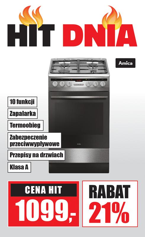 Kuchnia gazowo-elektryczna Amica 57GE3.33HZPTADAQ(XX)