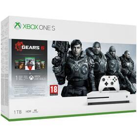Konsola Xbox One S 1TB + Gears 5, Ultimate Edition + Kolekcja Gears of War Biały