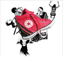 Do -50% na obuwie oraz akcesoria Converse (np.: Chuck Taylor All Star Ox K za 80 zł) @ Sarenza