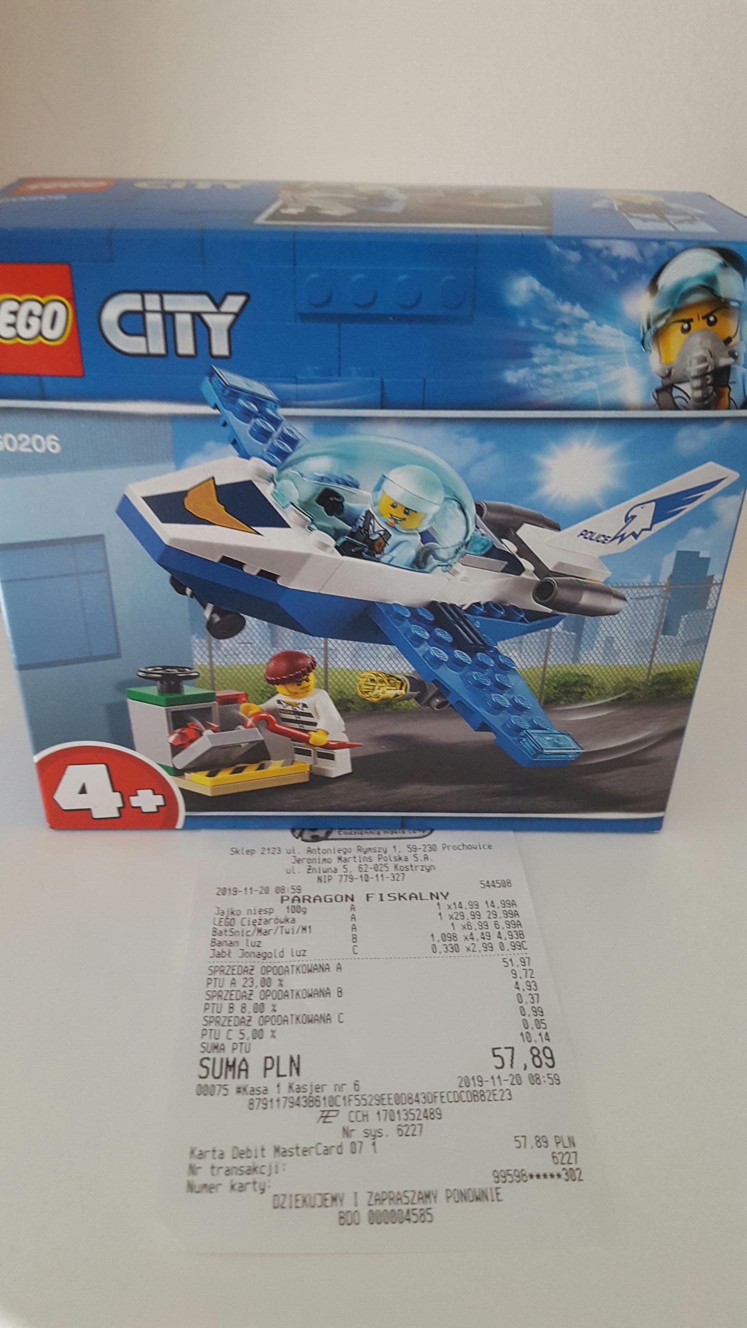 Lego Technic i City Biedronka