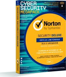 NORTON Security Deluxe 5 urządzeń 1 rok z WiFi Privacy