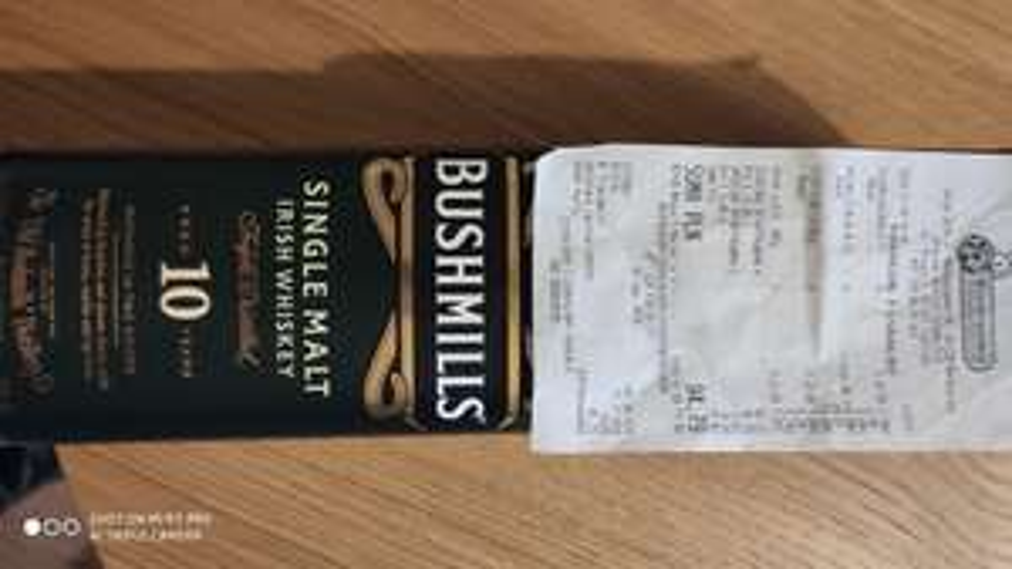 Bushmills single malt 10yo Whiskey 0.7 Biedronka